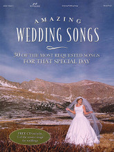 Amazing Wedding Songs. (30 of the Most Requested Songs for That Special Day). By Various. For Piano/Vocal. Brentwood-Benson Adult Sgbks. Book with CD. 176 pages. Brentwood-Benson Music Publishing #4575705447. Published by Brentwood-Benson Music Publishing.  Includes piano/vocal arrangements of 30 songs for weddings, plus an accompanying CD for 5 new songs (May I Have This Dance • Your Love Is Life to Me • Grace of My Life • Dream Alive • A Page Is Turned). Other songs include: A Page Is Turned • Always • Ave Maria • Butterfly Kisses • Canon in D • Endless Love • I Swear • Jesu, Joy of Man's Desiring • Love Will Be Our Home • Ode to Joy • The Keeper of the Stars • This Is the Day • Trumpet Voluntary • Your Love Amazes Me • and more.