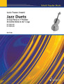 Jazz Duets (25 Easy Pieces in First Position Cello Duet). By Lucio Franco Amanti. String. Softcover. 36 pages. Schott Music #ED21598. Published by Schott Music.  Jazz duets for cello beginners. Presented in progressive order of difficulty.