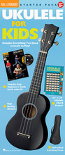 Ukulele for Kids Starter Pack by Various. For Ukulele. Ukulele. Published by Hal Leonard.  Even the younger beginner can get in on the ukulele craze with this convenient pack that includes everything you need to start playing!  • A high-quality four-string, 12-fret soprano ukulele  • Ukulele for Kids method book/CD  • A soft-sided carrying case  • 22″ x 34″ ukulele chords poster