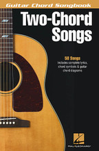 2-Chord Songs - Guitar Chord Songbook by Various. For Guitar. Guitar Chord Songbook. Softcover. 136 pages. Published by Hal Leonard.  You won't believe the songs you can strum with just two chords! This book contains nearly 60 for you to wow your friends with, including: ABC • Achy Breaky Heart (Don't Tell My Heart) • Brick House • Day-O (The Banana Boat Song) • Eleanor Rigby • Fever • The Hokey Pokey • A Horse with No Name • Iko Iko • Jambalaya (On the Bayou) • Okie from Muskogee • Paperback Writer • Ramblin' Man • Solitude • Something in the Way • Tomorrow Never Knows • Tulsa Time • When Love Comes to Town • and more.