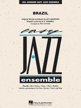 Brazil by Ary Barroso (1903-1964) and S.K. Russell. Arranged by Rick Stitzel. For Jazz Ensemble (Score & Parts). Easy Jazz Ensemble Series. Grade 2. Published by Hal Leonard.