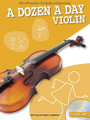 A Dozen a Day - Violin (Pre-Practice Technical Exercises). For Violin. Willis. Softcover with CD. 32 pages. Willis Music #WMR101167. Published by Willis Music.  A Dozen a Day books have long been the favorite pre-practice technical exercises for young pianists. Now these classic warm-up exercises are available for instruments too! Complete with audio backing tracks on the included CD, these books help develop and maintain good fingering and breathing technique – the basis for all good playing. Suddenly practice has become more rewarding... and a lot more enjoyable!