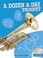 A Dozen a Day - Trumpet (Pre-Practice Technical Exercises). For Trumpet. Willis. Softcover with CD. 32 pages. Willis Music #WMR101145. Published by Willis Music.  A Dozen a Day books have long been the favorite pre-practice technical exercises for young pianists. Now these classic warm-up exercises are available for instruments too! Complete with audio backing tracks on the included CD, these books help develop and maintain good fingering and breathing technique – the basis for all good playing. Suddenly practice has become more rewarding... and a lot more enjoyable!