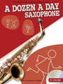 A Dozen a Day - Saxophone (Pre-Practice Technical Exercises). For Saxophone. Willis. Softcover with CD. 32 pages. Willis Music #WMR101156. Published by Willis Music.  A Dozen a Day books have long been the favorite pre-practice technical exercises for young pianists. Now these classic warm-up exercises are available for instruments too! Complete with audio backing tracks on the included CD, these books help develop and maintain good fingering and breathing technique – the basis for all good playing. Suddenly practice has become more rewarding... and a lot more enjoyable!