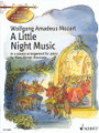 Wolfgang Amadeus Mozart - A Little Night Music (In a Simple Arrangement for Piano by Hans-Günter Heumann Get to Know Classical Masterpieces Series). By Wolfgang Amadeus Mozart (1756-1791). Arranged by Hans Gunter Heumann. For Piano. Piano. Softcover. 66 pages. Schott Music #ED21690. Published by Schott Music.  Includes a composer biography, historical notes on the piece, and color drawings.