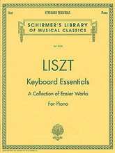 Keyboard Essentials (Piano Solo). By Franz Liszt (1811-1886). For Piano. Piano Collection. SMP Level 8 (Early Advanced). 72 pages. G. Schirmer #LB2028. Published by G. Schirmer.  This collection proves that not all of Liszt's piano music is fiendishly difficult. Ranging from easy to intermediate, these pieces span the composer's entire career and stylistic development; they are a perfect introduction to his music.  About SMP Level 8 (Early Advanced)   4 and 5-note chords spanning more than an octave. Intricate rhythms and melodies.