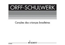 Cancoes das criancas brasileiras (Brasilian Songs for Children). Arranged by Hermann Regner. For Recorder, Orff Instruments. Schott. Score for Voice and/or Instruments. 44 pages. Schott Music #ED4869. Published by Schott Music.  Orff-Schulwerk has been translated and adapted for use in many countries and there are editions in numerous languages, with a comprehensive range of supplementary material.  Those teachers using the various English editions will find here a rich and exciting source of traditional folk songs, dance melodies and original material from other countries, which will enlarge and enrich the activites and experiences of their pupils.  Ten folk-songs and dances for children with accompaniements for recorders and Orff instruments.