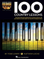 100 Country Lessons (Keyboard Lesson Goldmine Series Book/2-CD Pack). For Piano/Keyboard. Piano Instruction. Softcover with CD. 208 pages. Published by Hal Leonard.  Expand your keyboard knowledge with the Keyboard Lesson Goldmine series! The series contains four books: Blues, Country, Jazz, and Rock. Each volume features 100 individual modules that cover a giant array of topics. Each lesson includes detailed instructions with playing examples. You'll also get extremely useful tips and more to reinforce your learning experience, plus two audio CDs featuring performance demos of all the examples in the book!  100 Country Lessons includes the Floyd Cramer Slip-Note Technique; left-hand comping styles; special techniques; blues scales, pentatonic scales, et. al.; the country ballad; and much more!