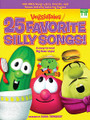 """VeggieTales - 25 Favorite Silly Songs! arranged by Carol Tornquist. For Piano/Keyboard. Sacred Folio. 120 pages. Word Music #080689463389. Published by Word Music.  """"And now it's time for silly songs with Larry..."""" Here are 25 of the silliest from the matching CD by kids' favorite singing vegetables, the VeggieTales! This songbook features song lyrics with chords plus bonus activity coloring pages. Songs: Belly Button • The Dance of the Cucumber • Goodnight, Junior • The Hairbrush Song • Larry's Blues • Monkey • The Pirates Who Don't Do Anything • School House Polka • The Water Buffalo Song • and more, plus a bonus song: Happy Tooth Day."""