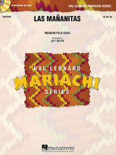 Las Mananitas arranged by Jeff Nevin. For Mariachi Band (Score & Parts). Hal Leonard Mariachi Series. Grade 2-3. Published by Hal Leonard.  The traditional Mexican serenade (and happy birthday!) song that every mariachi must know. Arranged here in a traditional setting, this is perfectly suited for beginning-level mariachis.  Hal Leonard Mariachi Series  • Each arrangement includes a professionally recorded demonstration CD  • Scored for Violins, Trumpets, Armonia, Guitarron and Vocal  • Instrumentation options for Flutes, Guitar and Bass.