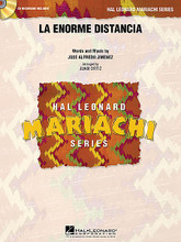 La Enorme Distancia by Jose Alfredo Jimenez and Jos. Arranged by Juan Ortiz. For Mariachi Band (Score & Parts). Hal Leonard Mariachi Series. Grade 3. Published by Hal Leonard.  This lively waltz from Mariachi master José Alfredo Jiménez is arranged here with moderate ranges and skillful interplay between the vocalist, strings and trumpets.  Hal Leonard Mariachi Series  • Each arrangement includes a professionally recorded demonstration CD  • Scored for Violins, Trumpets, Armonia, Guitarron and Vocal  • Instrumentation options for Flutes, Guitar and Bass.