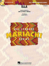 Ella by Jose Alfredo Jimenez and Jos. Arranged by Juan Ortiz. For Mariachi Band (Score & Parts). Hal Leonard Mariachi Series. Grade 3. Published by Hal Leonard.  Written in a slow waltz style, this beautiful ballad from José Alfredo Jiménez is sure to be a concert favorite. With moderate trumpet ranges and easy rhythms, this will go together easily.  Hal Leonard Mariachi Series  • Each arrangement includes a professionally recorded demonstration CD  • Scored for Violins, Trumpets, Armonia, Guitarron and Vocal  • Instrumentation options for Flutes, Guitar and Bass.