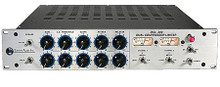 DCL-200 (Dual Tube Compressor). Blue Microphones. General Merchandise. Hal Leonard #DCL200. Published by Hal Leonard.  A mainstay of both the live sound and studio environments, the DCL-200 has helped shape the sound of countless concerts and albums for decades, as well as holding down the fort in many of the best dance clubs around the world. It is a dual channel hybrid design compressor/limiter that incorporates hand-selected vacuum tubes with high reliability 990 op-amps in a transformerless signal path, giving you an incredibly clean, precise sound with the subtle overtones and warmth of tube technology.  The DCL-200 uses a soft-knee and program-dependent transition characteristic that is extremely versatile and musical sounding, making it a go-to piece for tracking, mixing, and even mastering. Because of the program dependent nature of the DCL's compressor, a higher slope will result in more compression but the circuit constantly adjusts itself to the incoming signal, making it easy to set and forget.