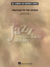 Welcome to the Jungle by Guns N' Roses. Arranged by Paul Murtha. For Jazz Ensemble (Score & Parts). Jazz Ensemble Library. Grade 4. Published by Hal Leonard.  Hailed as one of the greatest hard rock songs of all time, this 1987 hit from Guns N' Roses features familiar melodies and a relentless drive throughout. Paul's hard-hitting arrangement uses the saxes on the lead and brass on the signature riffs, along with terrific interplay within the ensemble. Rock the stage with this one!