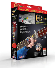 ChordBuddy Guitar Learning System (Just Press the Buttons & Play! Boxed Edition). By Travis Perry. For Guitar. Chord Buddy. General Merchandise. 120 pages. Published by Hal Leonard.  As soon as the ChordBuddy is properly attached to your acoustic or electric guitar, you will be able to make music instantly. Within a few weeks, you'll begin removing some of the tabs and making the chords on your own. In two months, you'll be able to play the guitar with no ChordBuddy at all! Learn guitar fast with ChordBuddy!