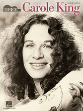 Carole King - Strum & Sing by Carole King. For Guitar. Easy Guitar. Softcover. 76 pages. Published by Cherry Lane Music.  This series provides an unplugged and pared-down approach to your favorite songs – just the chords and the lyrics, with nothing fancy. Here are 26 Carole King hits in easy-to-play arrangements: I Feel the Earth Move • I'm into Something Good • It's Too Late • The Loco-Motion • (You Make Me Feel Like) A Natural Woman • One Fine Day • So Far Away • Some Kind of Wonderful • Tapestry • Up on the Roof • Will You Love Me Tomorrow • You've Got a Friend • and more.