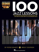 100 Jazz Lessons (Keyboard Lesson Goldmine Series Book/2-CD Pack). For Piano/Keyboard. Piano Instruction. Softcover with CD. 208 pages. Published by Hal Leonard.  Expand your keyboard knowledge with the Keyboard Lesson Goldmine series! The series contains four books: Blues, Country, Jazz, and Rock. Each volume features 100 individual modules that cover a giant array of topics. Each lesson includes detailed instructions with playing examples. You'll also get extremely useful tips and more to reinforce your learning experience, plus two audio CDs featuring performance demos of all the examples in the book!  100 Jazz Lessons includes scales, modes and progressions; Latin jazz styles; improvisation ideas; harmonic voicings; building your chops; and much more!