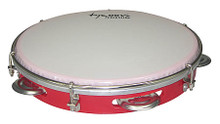 10 Abs Pandeiro - Red tycoon. Tycoon Percussion #TPD-10AR. Published by Tycoon Percussion.