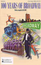 100 Years of Broadway (Medley) arranged by Mac Huff. For Choral (2 Part Singer). Broadway Choral. 56 pages. Published by Hal Leonard.  Celebrate the history of Broadway and our great heritage of musical theater in this marvelous choral medley by Mac Huff. From the music of Tin Pan Alley to state-of-the-art contemporary Broadway, you'll treasure the magic of an entire century of entertainment, laughter, and beautiful music! Available: SATB Director's Score, SAB Director's Score, 2-Part Director's Score, SATB Singer's Edition, SAB Singer's Edition, 2-Part Singer's Edition, Instrumental Pak, Preview CD, ShowTrax CD. Performance Time: Approx. 48:35.