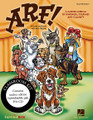 Arf! (A Canine Musical of Kindness, Courage and Calamity). By John Higgins and John Jacobson. For Choral (CLASSRM KIT). Expressive Art (Choral). Published by Hal Leonard.  Doggie Town is a-buzz with excitement! Judges from the famous Wurstchester Dog Show are coming to spot new talent, and everyone is busy rehearsing for the big show. General German Shepherd is drilling on proper etiquette and discipline, the singing Dalmatians are connecting the dots, the Boxers are toning and getting in shape. But why is Rover the mutt so sad? Join the huskies, poodles, pointers and more as they help Rover discover his special talent!  Young performers in the primary grades will have their night to shine in this entertaining 25-minute musical featuring five original songs in a variety of musical styles, clever rhyming dialog easily adaptable to casts of varying sizes, simple movement and production tips to help stage a successful performance, even when time is limited. Available separately: Teacher Edition, Reproducible Pak (vocals, lyric sheets, dialog), Preview CD (with vocals) Preview Pak (1 Preview CD and sample pages), Performance/Accompaniment CD, Classroom Kit (Teacher Edition, Reproducible Pak, P/A CD). Duration: ca. 25 minutes. Suggested for grades K-3.