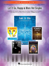 Let It Go, Happy & More Hot Singles (Simple Arrangements for Students of All Ages). By Various. For Piano/Keyboard. Pop Piano Hits. Softcover. 32 pages. Published by Hal Leonard.  Pop Piano Hits is a series designed for students of all ages! Each book contains five simple and easy-to-read arrangements of today's most popular downloads. Lyrics, fingering, and chord symbols are included to help you make the most of each arrangement. Enjoy your favorite songs and artists today! This edition includes: All of Me (John Legend) • Dark Horse (Katy Perry) • Happy (Pharrell) • Let It Go (Demi Lovato) • Pompeii (Bastille).