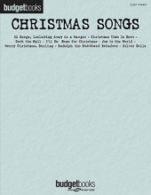 Christmas Songs (Budget Books). By Various. For Piano/Keyboard. Easy Piano Songbook. Softcover. 304 pages. Published by Hal Leonard.  An easy piano edition of our popular Budget Books title featuring over 90 Christmas songs, including: All I Want for Christmas Is You • Angels We Have Heard on High • Baby, It's Cold Outside • The Christmas Song (Chestnuts Roasting on an Open Fire) • Christmas Time Is Here • Emmanuel • Feliz Navidad • The Gift • The Greatest Gift of All • Here Comes Santa Claus (Right down Santa Claus Lane) • I've Got My Love to Keep Me Warm • Jingle-Bell Rock • Last Christmas • Let It Snow! Let It Snow! Let It Snow! • The Most Wonderful Time of the Year • Rudolph the Red-Nosed Reindeer • Silent Night • Silver Bells • We Need a Little Christmas • Wonderful Christmastime • and more!