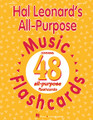 """Hal Leonard's All-Purpose Music Flashcards for Choral (CLASSRM KIT). Music First Express. 48 pages. Published by Hal Leonard.  Let your imagination take over with this handy new tool for the music classroom! Consisting of 48 cards (8-1/2""""x11"""") with a music staff on one side and blank on the other, these cards can be customized to your own particular classroom needs. Best of all, they are laminated on both sides for durability so they can be used again and again with wipe-away dry erase markers. You'll find dozens of uses for this helpful music resource, from rhythm and melody reading and dictation to musical terms, musical form, and more! For all ages."""