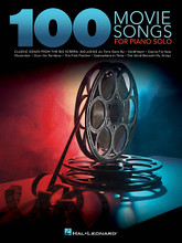 "100 Movie Songs for Piano Solo by Various. For Piano/Keyboard. Piano Solo Songbook. Softcover. 400 pages.  100 beautiful arrangements of standards from the cinema, including: Live and Let Die • An Affair to Remember (Our Love Affair) • As Time Goes By • Baby Elephant Walk • Beauty and the Beast • Bella's Lullaby • Born Free • Brian's Song • Endless Love • Theme from E.T. (The Extra-Terrestrial) • The Godfather (Love Theme) • Goldfinger • James Bond Theme • The Magnificent Seven • My Heart Will Go on (Love Theme from 'Titanic') • Theme from ""New York, New York"" • Over the Rainbow • The Pink Panther • Raiders March • The Rainbow Connection • The Rose • Singin' in the Rain • Star Wars (Main Theme) • Song from M*A*S*H (Suicide Is Painless) • The Trolley Song • The Way We Were • The Wind Beneath My Wings • and more."
