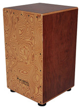 29 Series Bubinga Cajon With Makah Burl Front Plate for Cajons. Tycoon. Tycoon Percussion #TKS-29. Published by Tycoon Percussion.