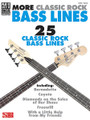 More Classic Rock Bass Lines by Various. For Bass. Bass. Guitar tablature. 192 pages. Published by Cherry Lane Music.  This follow-up to Classic Rock Bass Lines (02500754) features note-for-note transcriptions with tab for 25 more great bass licks: Any Way You Want It • Bernadette • Coyote • Diamonds on the Soles of Her Shoes • Freewill • I Can See for Miles • Money • Paradise City • Roxanne • Start Me Up • Walk on the Wild Side • With a Little Help from My Friends • more!