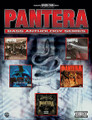 Pantera - Bass Anthology Series by Pantera. For Bass. Artist/Personality; Authentic Guitar TAB; Bass Guitar Personality; Guitar TAB. Bass Anthology Series. Metal and Hard Rock. Difficulty: medium. Bass tablature songbook. Bass tablature, standard notation, vocal melody, lyrics, chord names and bass notation legend. 116 pages. Alfred Music #0356B. Published by Alfred Music.  A collection of thirteen songs including: Cowboys From Hell * Heresy * Mouth For War * This Love * Walk * Fucking Hostile * Becoming * I'm Broken * Shedding Skin * Strength Beyond Strength * 13 Steps to Nowhere * Drag the Waters * The Great Southern Trendkill * Suicide Note Pt. 2 * The Underground in America * War Nerve * I Can't Hide * Where You Come From.
