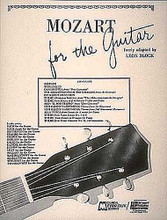 Mozart for Guitar by Wolfgang Amadeus Mozart (1756-1791). For Guitar. Guitar Book. Grade 3. 16 pages. Hal Leonard #M387. Published by Hal Leonard.  A marvelous collection of music for guitar arranged at the easy to intermediate level of difficulty. All pieces are arranged for flat picked style guitar.
