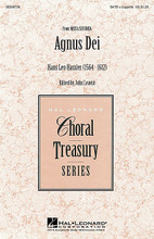 Agnus Dei (from Missa Secunda) (SATB a cappella). By Hans Leo Hassler (1564-1612). Arranged by John Leavitt. SATB. Treasury Choral. Festival. 8 pages. Published by Hal Leonard.  This masterwork from Hassler's Missa Secunda is ideal for developing the representative style qualities of the era. Excellent for contest and concert!Available separately: SATB a cappella. Performance Time: Approx. 3:00.  Minimum order 6 copies.