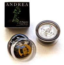 """First introduced in 2002 as Tartini Rosin, it was quickly recognized as distinct among rosins by world-renowned string players and string lovers, leading to great demand and worldwide distribution. In 2005, Andrea Bang introduced an upgraded version called """"Andrea"""", which was designed to provide even more sensitive and sophisticated sound enhancement than """"Tartini"""".  A Piacere has the exact same formula as the Tartini """"GREEN"""", which provides the effortless bow control with even sound production."""