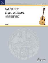 Le Reve De Julietta: 4 Progressive Pieces For 2 Guitars guitar. Softcover.