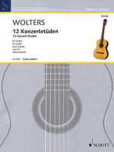 12 Concert Etudes Op. 41 Guitar guitar. Softcover. 62 pages. Hal Leonard #GA563. Published by Hal Leonard.