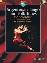 Argentinian Tango and Folk Tunes for Accordion (36 Traditional Pieces). By Various. Arranged by Pete Rosser and Ros Stephen. For Accordion. Schott. Softcover with CD. Schott Music #ED13519. Published by Schott Music.  A collection of beautiful pieces arranged for accordion with chords for accompanying instruments. Includes performance CD.