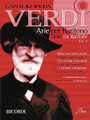 Verdi Arias for Baritone Volume 2 (Cantolopera Series). By Giuseppe Verdi (1813-1901). For Baritone, Voice, Piano Accompaniment. Vocal Collection. Softcover with CD. 66 pages. Ricordi #NR140685. Published by Ricordi.  Vocal/piano score for 7 of Verdi's most famous arias from Luisa Miller, Falstaff, Otello and more. CD includes full performance and orchestral accompaniment tracks.