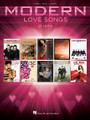 Modern Love Songs by Various. For Piano/Vocal/Guitar. Piano/Vocal/Guitar Songbook. Softcover. 194 pages. Published by Hal Leonard.  27 recent hits, including: Just a Kiss (Lady Antebellum) • Just the Way You Are (Bruno Mars) • Love Somebody (Maroon 5) • Marry Me (Train) • No One (Alicia Keys) • Ours (Taylor Swift) • Stay (Rihanna) • A Thousand Years (Christina Perri) • Unconditionally (Katy Perry) • Wanted (Hunter Hayes) • and more.