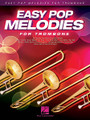 Easy Pop Melodies (for Trombone). By Various. For Trombone (Trombone). Instrumental Folio. Softcover. 64 pages. Published by Hal Leonard.  Play 50 of your favorite pop tunes on your instrument of choice! This collection features arrangements written in accessible keys and ranges with lyrics and chord symbols. Songs include: All My Loving • Blowin' in the Wind • Clocks • Don't Stop Believin' • Every Breath You Take • Fireflies • Hey, Soul Sister • In My Life • Love Story • My Girl • Nights in White Satin • Sweet Caroline • Unchained Melody • Viva La Vida • What a Wonderful World • You've Got a Friend • and more.