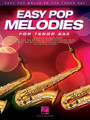 Easy Pop Melodies (for Tenor Sax). By Various. For Tenor Saxophone (Tenor Sax). Instrumental Folio. Softcover. 64 pages. Published by Hal Leonard.  Play 50 of your favorite pop tunes on your instrument of choice! This collection features arrangements written in accessible keys and ranges with lyrics and chord symbols. Songs include: All My Loving • Blowin' in the Wind • Clocks • Don't Stop Believin' • Every Breath You Take • Fireflies • Hey, Soul Sister • In My Life • Love Story • My Girl • Nights in White Satin • Sweet Caroline • Unchained Melody • Viva La Vida • What a Wonderful World • You've Got a Friend • and more.