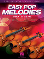 Easy Pop Melodies (for Violin). By Various. For Violin (Violin). Instrumental Folio. Softcover. 64 pages. Published by Hal Leonard.  Play 50 of your favorite pop tunes on your instrument of choice! This collection features arrangements written in accessible keys and ranges with lyrics and chord symbols. Songs include: All My Loving • Blowin' in the Wind • Clocks • Don't Stop Believin' • Every Breath You Take • Fireflies • Hey, Soul Sister • In My Life • Love Story • My Girl • Nights in White Satin • Sweet Caroline • Unchained Melody • Viva La Vida • What a Wonderful World • You've Got a Friend • and more.