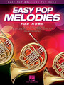 Easy Pop Melodies (for Horn). By Various. For Horn (Horn). Instrumental Folio. Softcover. 64 pages. Published by Hal Leonard.  Play 50 of your favorite pop tunes on your instrument of choice! This collection features arrangements written in accessible keys and ranges with lyrics and chord symbols. Songs include: All My Loving • Blowin' in the Wind • Clocks • Don't Stop Believin' • Every Breath You Take • Fireflies • Hey, Soul Sister • In My Life • Love Story • My Girl • Nights in White Satin • Sweet Caroline • Unchained Melody • Viva La Vida • What a Wonderful World • You've Got a Friend • and more.