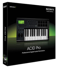 ACID Pro 7 (Professional Digital Audio Workstation Retail Edition). Software. General Merchandise. Hal Leonard #SAC7000. Published by Hal Leonard.  ACID Pro 7 software is a DAW powerhouse that combines full multitrack recording and mixing, MIDI sequencing, and legendary ACID looping functionality for a seamless music creation and post-production environment. More creative partner than production tool, ACID Pro 7 software inspires you like nothing else. With its Transparent Technology design, ACID Pro 7 software removes typical barriers to the creative workflow so you can effortlessly transform ideas into real results.