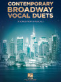 Contemporary Broadway Vocal Duets (31 Songs from 19 Musicals). Composed by Various. For Vocal Duet. Vocal Collection. Softcover. 240 pages. Published by Hal Leonard.  Duets for various combinations of voices from The Addams Family • Aida • Avenue Q • Bring It On • Ghost the Musical • In the Heights • Legally Blonde • The Lion King • Little Women • Memphis • Monty Python's Spamalot • Newsies the Musical • Once • Shrek the Musical • Spider Man: Turn Off the Dark • Spring Awakening • 13: The Musical • [title of show] • Young Frankenstein.