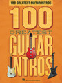 100 Greatest Guitar Intros by Various. For Guitar. Guitar Riffs. Softcover. 130 pages. Published by Hal Leonard.  Guitar riffs from 100 awesome tunes, including: Ain't Talkin' 'Bout Love • Barracuda • Crazy Train • Detroit Rock City • Free Ride • Heartbreaker • I Feel Fine • La Grange • Life in the Fast Lane • Message in a Bottle • Paranoid • Pride and Joy • Rebel, Rebel • Revolution • Say It Ain't So • Silent Lucidity • Stairway to Heaven • Talk Dirty to Me • Thunderstruck • Wake up Little Susie • and many more.