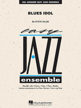 Blues Idol composed by Steve Allee. For Jazz Ensemble (Score & Parts). Easy Jazz Ensemble Series. Grade 2. Published by Hal Leonard.  Jazzers deserve their chance to be in the spotlight like anyone else, and here's a perfect vehicle for your aspiring young stars. This bluesy swing chart features the saxes on the melody with commentary from the brass section. The blues progression makes soloing easy for anyone who gets the urge, and the tutti shout chorus closes this appealing number out in style.