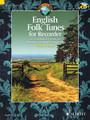 English Folk Tunes for Recorder (62 Traditional Pieces for Descant (Soprano) Recorder). Composed by Various. Edited by Peter Bowman. Arranged by Peter Bowman. For Recorder. Woodwind. Softcover with CD. 46 pages. Schott Music #ED13567. Published by Schott Music.  This collection of traditional hornpipes, ballads and jigs includes a CD of performance tracks.