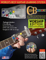 """ChordBuddy Guitar Learning System - Worship Edition by Travis Perry. For Guitar. Chord Buddy. General Merchandise. 120 pages. Published by Hal Leonard.  Learn to play guitar quickly while using popular Worship songs as your guide. As soon as the ChordBuddy device is properly attached to your acoustic or electric guitar, you will be able to make music instantly. Within a few weeks, you'll begin removing some of the tabs and making the chords on your own. In two months, you'll be able to play the guitar with no ChordBuddy at all!  Package includes: ChordBuddy • instruction book • companion DVD with a 2-month lesson plan • and ChordBuddy Worship songbook with 60 songs. Works on acoustic and electric guitars. The ChordBuddy is in the key of """"G"""" and makes the """"G"""" """"C"""" """"D"""" and """"Em"""" chords. The ChordBuddy Guitar Learning System has earned the Parent Tested Parent Approved (PTPA) Seal of Approval and was rated the Most Trusted Seal by 22,000 parents! Great for home, Sunday School, and other faith-based places of learning. The ChordBuddy currently does not work on left-handed guitars, nor does it work on classical or half-sized (children's) guitars."""