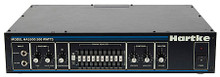 """HA5500 (500-Watt Bass Head Rackmount). Hartke Equipment. General Merchandise. Hartke Equipment #HA5500C. Published by Hartke Equipment.  Found on stages all over the world, the Hartke HA5500 bass amplifier is back in classic black. Yet, it retains all the same rock-solid performance and features as the original that have made it one of the most popular bass amplifiers of all time. The HA5500's unique circuitry ensures that every nuance of your bass performance is faithfully reproduced. Featuring two pre-amp input knobs for custom blending of tube and solid state tone and a ten-band graphic EQ, the HA5500 is ideal for the player who wants plenty of power and control. But we don't stop there. A dedicated preset button allows you to set a equalization curve and two fully adjustable contour knobs provide even more shaping of your distinctive sound. A built-in compressor adds real """"punch"""" to your bass sound, and also allows you to smooth out volume differences between notes.Rugged construction and professional features make the HA5500 totally road-worthy. Two independent inputs accommodate both passive and active bass guitars. LEDs show you the settings of the graphic equalizer in low-light environments as well as a two-color LED that continuously shows the status of the compression circuitry in response to your playing. Electronically balanced direct output provides routing signal to professional mixing consoles for both live performance and recording environments. A ground lift switch helps prevent hum or buzz from entering the signal, and a pre/post switch allows the direct signal to be derived either before or after the amp EQ section.With all the features you need for complete tonal control, along with ample power and rugged design, the HA5500 will ensure complete bass euphoria no matter what kind of music you play."""